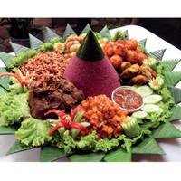 Nasi Tumpeng Besar 10 Porsi Depok Enak Mantap Merek Buhan Kitchen