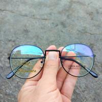 kacamata anti radiasi komputer/anti blueray lensa normal-Hitam