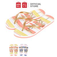 MINISO Women's Hawaii Flip Flops S 35/36 Sandal Jepit Hawaii Putri S