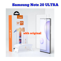 T-MAX Tempered Glass Liquid UV Samsung Note 20 | ULTRA TMax Original