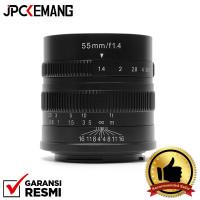 7artisans for Sony 55mm f1.4 Lensa 7artisan Sony E Mount GARANSI RESMI
