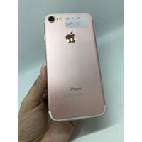 iphone 7 128gb lengkap sehat full ori(rosegold)