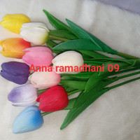 Bunga tulip latex / Tulip Artificial Flower