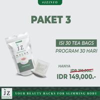 paket 3 Jz Slimming Tea || isi 30 kantong teh pelangsing alami