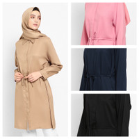 YAMINA Baju Atasan Wanita Tunik Blouse Baju Muslim Blus muslim