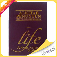 Alkitab Penuntun Hidup Berkelimpahan-Life Application Study Bible APHB