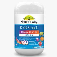Nature's Way Kids Smart Vita Gummies Omega 3 Dha Trio