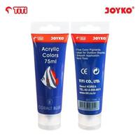 Acrylic Color Cat Akrilik Joyko TiTi ACC-75ML-8 Cobalt Blue ColorWarna