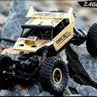 Rc Mobil Remote Rock Crawler Monster 4Wd Alloy Series 2.4Ghz