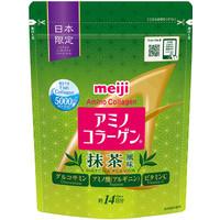 Meiji Amino Collagen Matcha Flavour 98gr jepang