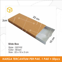 Slide Box. Souvenir box. Gift box. box. packaging | TC - 322102