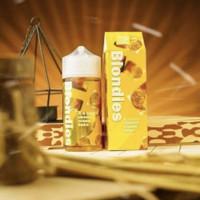 Blondies 100ml Banana Cheese Cream Bake IDJ Liquid Authentic