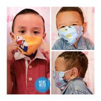 Masker Kain Anak Bayi 3 Ply Premium Masker Kain Anak 3 Lapis