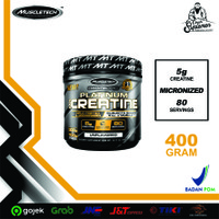Muscletech Platinum Creatine 400 gr 80 serving creatine muscletech