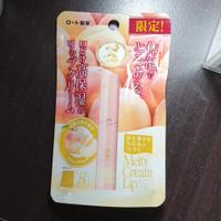 NEW!! Mentholatum Melty Lip Cream PEACH from Japan - Ready!