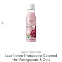 Love Nature Shampoo for Coloured Hair Pomegranate & Oats