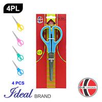 IDEAL 4PL Paket 4 Pcs Gunting Sekolah (16CM)