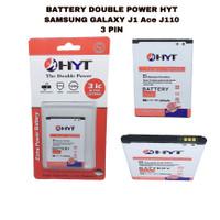 BATTERY DOUBLE POWER HYT J1 ACE J110 3PIN ORIGINAL HYT
