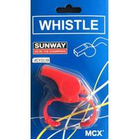Sunway Whistle Plastic + Clip MCY313B Peluit Plastik