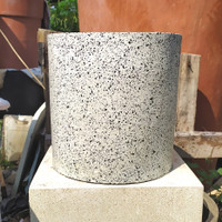 Pot Granit Tabung