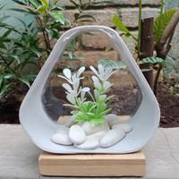 aquarium mini unik akrilik pvc