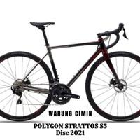 Sepeda Balap POLYGON STRATTOS S5 Disc 2021 Series