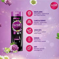 SUNSILK Black Shine Shampoo 170ml