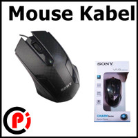 Mouse Optical USB Wired Kabel Charm Series