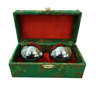 Health Balls 50MM Size M D-50 Therapy Ball Chrome