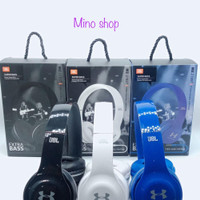 HEADPHONE STEREO BANDO JBL J-12 + MIC SUPER BASS GOOD QUALITY