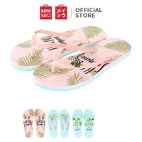 MINISO Women's Summer Flip Flops Sandal Jepit Musim Panas Putri S