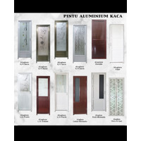 Pintu Alumunium minimalis
