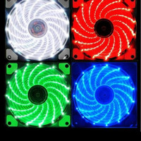 FAN CASING 12 CM WITH LED / FAN CASE 12 CM COLORS LAMPU