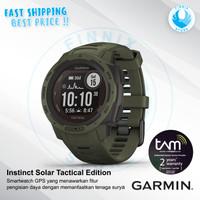 GARMIN Instinct Solar Tactical GPS Smartwatch - Garansi Resmi TAM