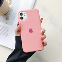 SILICONE MATTE CASE SOFTCASE LOGO APPLE FOR IPHONE 6 6S 6 PLUS 6S PLUS
