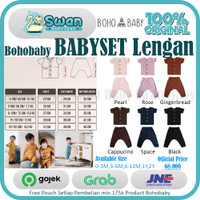 Bohobaby Baby Set Lengan / Baju Anak