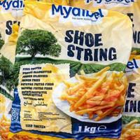 kentang goreng mydibel shoestring 1kg frozen food
