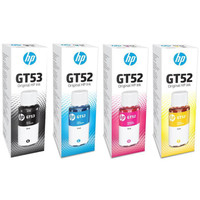 PAKET HEMAT TINTA REFILL ORIGINAL PRINTER HP GT53 & GT52