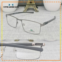 PREMIUM (GRATIS LENSA) Frame Kacamata Minus atau Baca Pria Lacoste L22