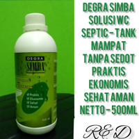 Degra Simba - Pengurai WC Septic Tank Mampet