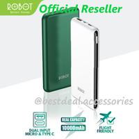 Robot RT180 10000mAh Powerbank Dual Input Port Micro USB & Type C