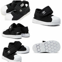 Sandal Anak Anak adidas Superstar Velcro Unisex Original