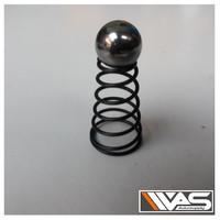 Steel Ball Valve Throttle Air Impact Tjap Mata 1 Inch