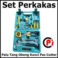 DTBird Alat Set Perkakas Palu Tang Obeng Kunci Pas Cutter YL 8016