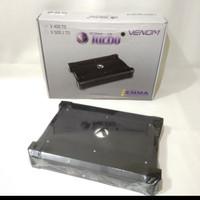 power amplifier 4 channel venom turbo v406to - Hitam