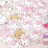 Sticker Dekorasi | Sticker Deco Kitty Waterproof | Sticker Hp, Laptop
