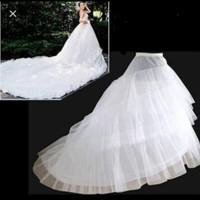 Petticoat Panjang Ekor/ rok pengembang Pengantin