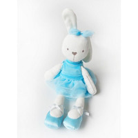 boneka kelinci lucu/rabbit plush/rabbit bunny - Biru