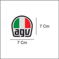 sticker / stiker cutting helm visor logo AGV