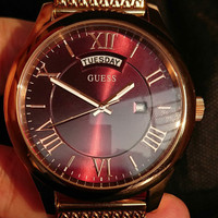 Original GUESS Watch Jam Tangan Pria Ori Branded Asli